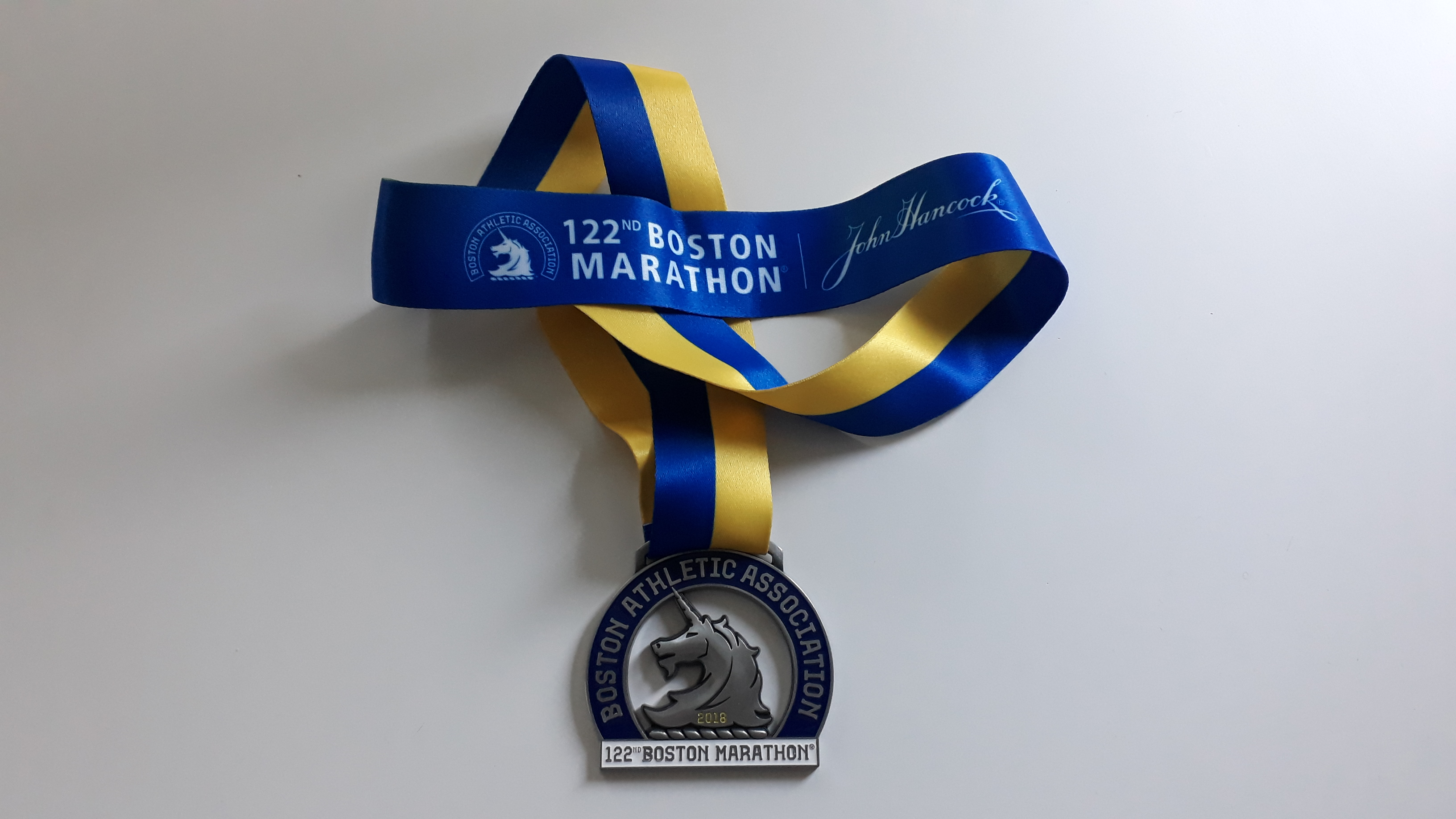 Boston Finisher Medal, 2018