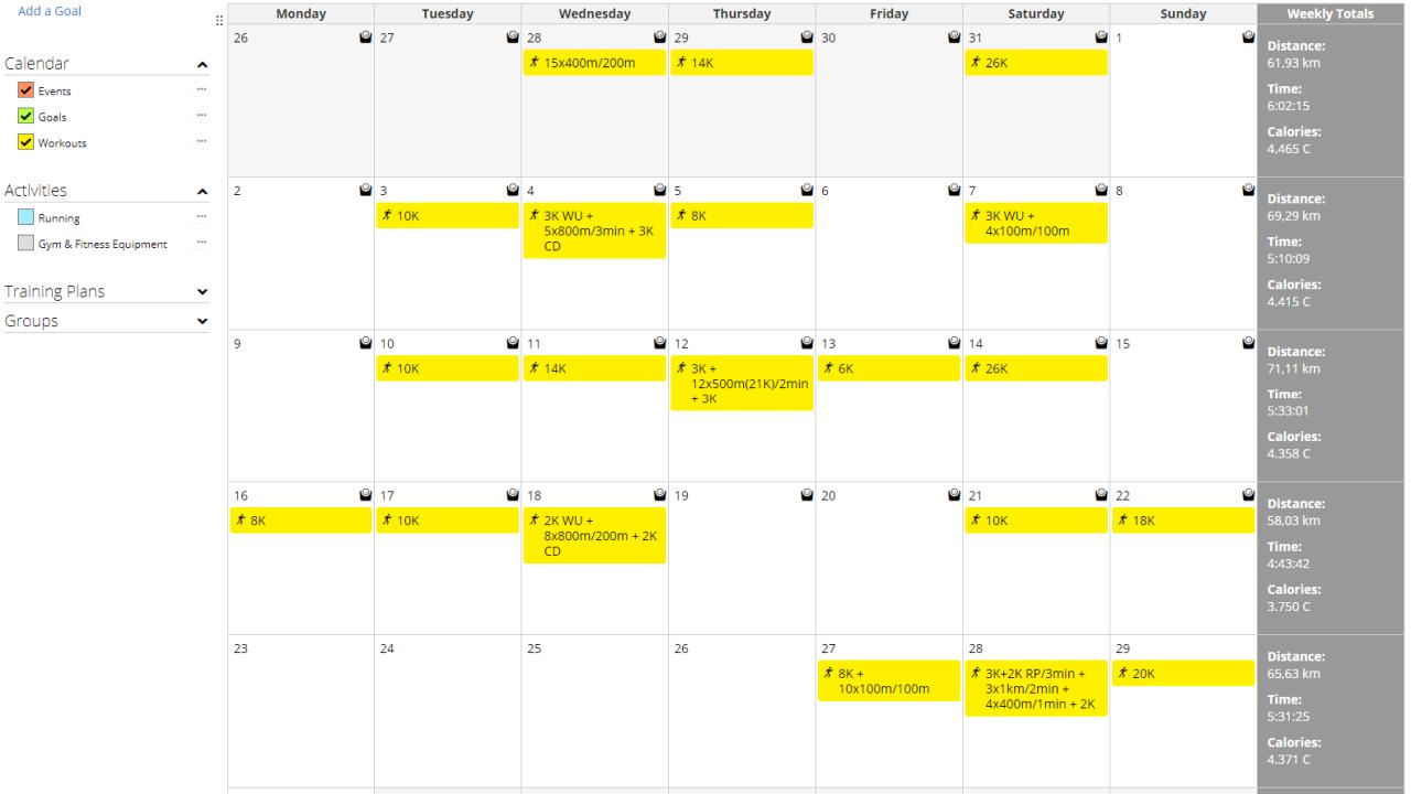 Garmin Calendar
